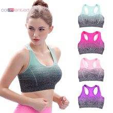 Coloriented Active Bra Wireless Underwear High Stretch Breathable Women Seamless Clolorful Fashion Design
