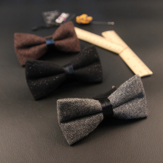 21colors mens bow tie british style business korean fashion designer 21colors mens bow tie british style business korean fashion designer solid wool bowtie business 100pcs ccuart Gallery