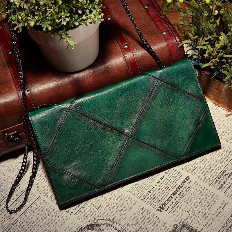 Fashion Lattice Designer Genuine Leather Women Evening Thin Purse Metal Chain Ladies Plaid Flap Bag Female Single Shoulder Bag все цены