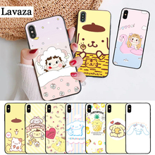 Lavaza Sanrio pom purin lovely Silicone Case for iPhone 5 5S 6 6S Plus 7 8 11 Pro X XS Max XR