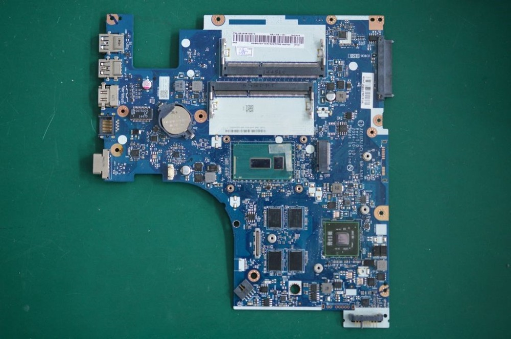 Applicable to G50-80 notebook motherboard I3-5005U VGA(2G) number <font><b>NM</b></font>-<font><b>A361</b></font> FRU 5B20H32943 5B20H32903 5B20H33131 5B20H33103 image