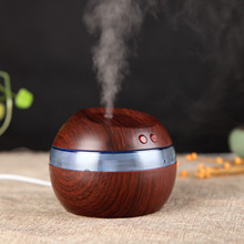 Wood Wooden Humidifier USB Ultrasonic LED Car /Home Aroma Diffuser Essential Oil Diffuser Aromatherapy mist maker