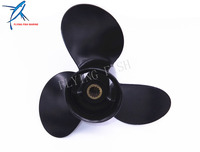 Boat Engine Aluminum Propeller 9 25x9 For Tohatsu Nissan 2 Stroke 9 9hp 12hp 15hp 18hp