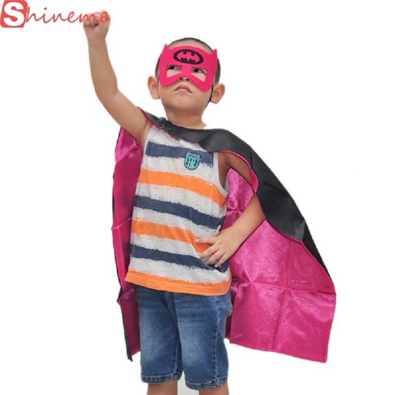 1cape 1mask Cloak Kids Superhero Capes Boy Children