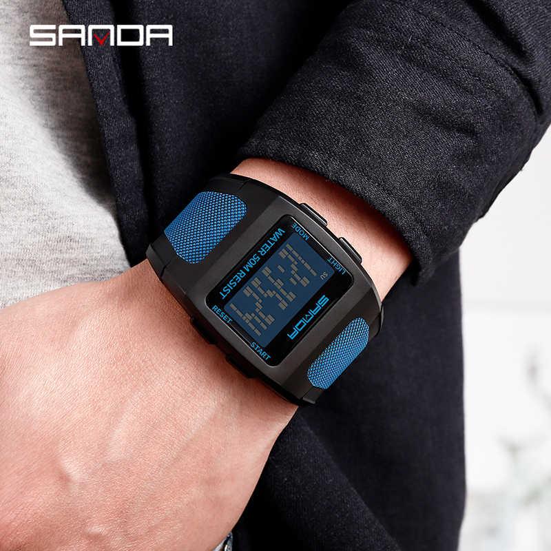 Elektronische 2019 nieuwe Horloges Waterdicht Mode Harajuku stijl Horloge Digitale Horloge Hars Band Sport Horloges Mannen Horloge reloj