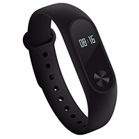 Original Xiaomi Mi Band 2 Bluetooth 4.0 IP67 Waterproof Dustproof Smart Bracelet with OLED Display Screen Circular Touch Button