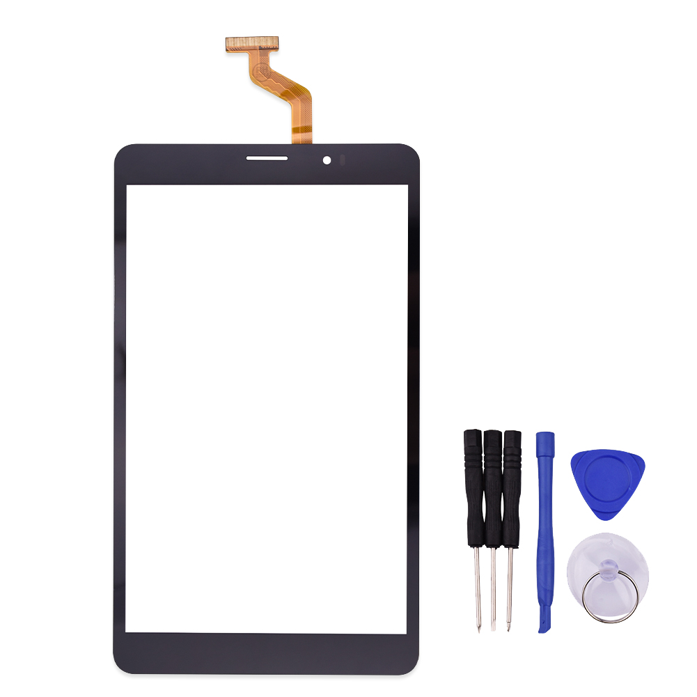 New Black 8 inch Touch Screen for cn040c0800g12v0 Digitizer Glass Replacement Free Shipping