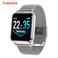 Volemer New Original Q3 Smart Watch Ip67 Waterproof Dynamic Blood Oxygen Pressure Pedometer Fitness Tracker Band Pk Honor Band 4