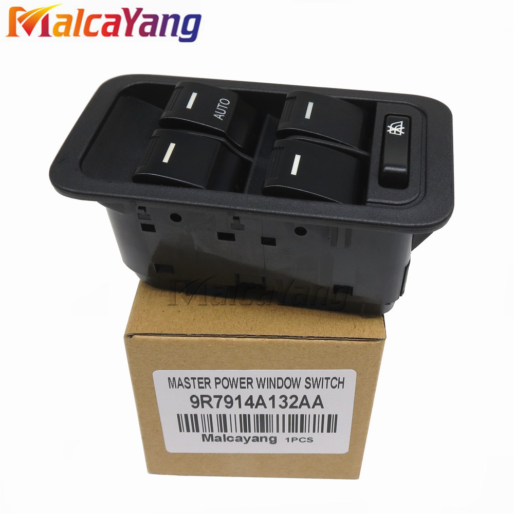Electric Master Window Switch for Apply for Ford Territory SX SY TX With White Illuminated 13Pin 9R7914A132AA