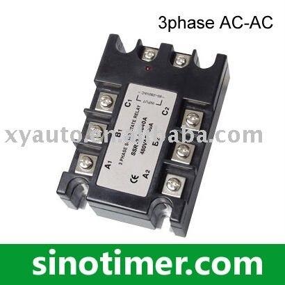 Three phase SSR (AC-AC) mds400a 1600v 400a three phase