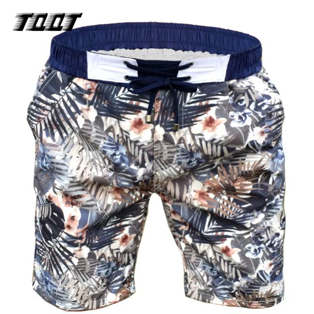 TQQT Shorts Mens Elastic Wasit Boardshort Low Waist Bermuda Print Leaves Shorts Men Regular Plus Short Summer Shorts Mens 7P0108