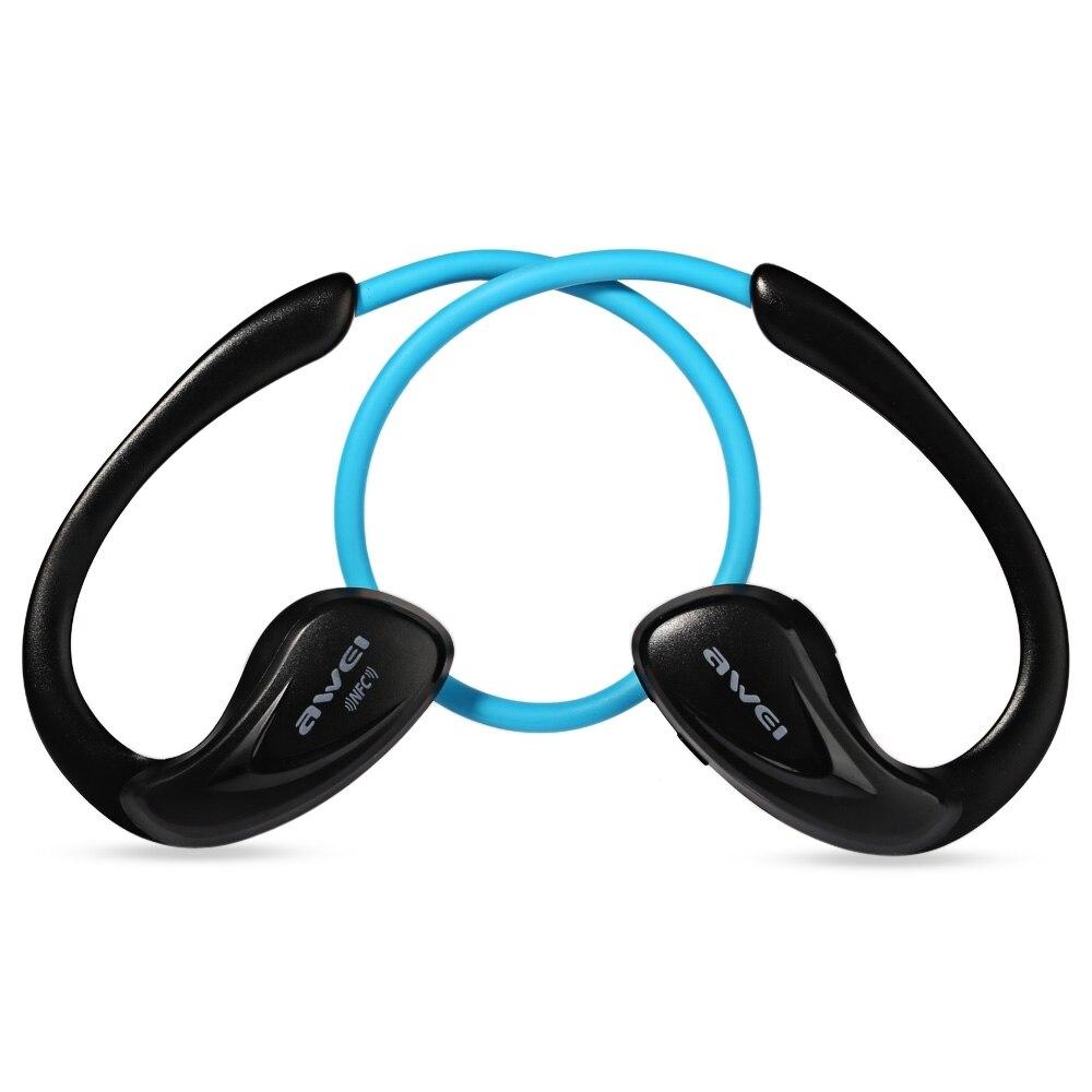 bilder für Awei a880bl bluetooth kopfhörer drahtlose nfc sport kopfhörer mit mikrofon für iphone 6 6s xiaomi huawei smartphone kopfhörer