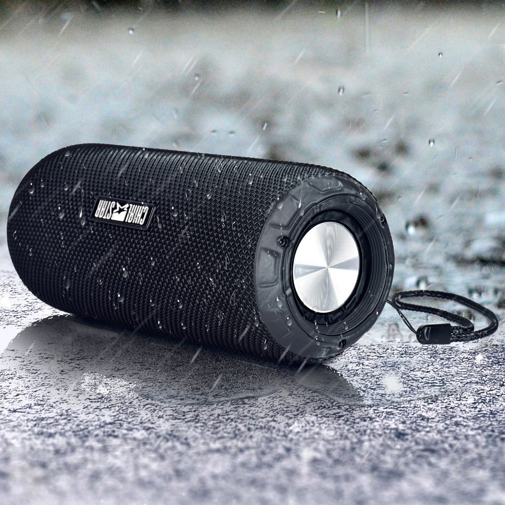 Outdoor Speaker Waterproof 12W Fabric Covering SD Phone Wireless speakers Sport Travel Motorcycle Yoga Running Bycling Climbing