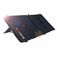 ELEGEEK Portable 22W 5V Dual USB Solar Charger Foldable SUNPOWER Solar Panel Charger With Tuck Net