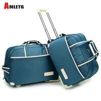 Rolling Suitcase Luggage Bag Waterproof Thickness Rolling Luggage Luggage Trolley Case Luggags