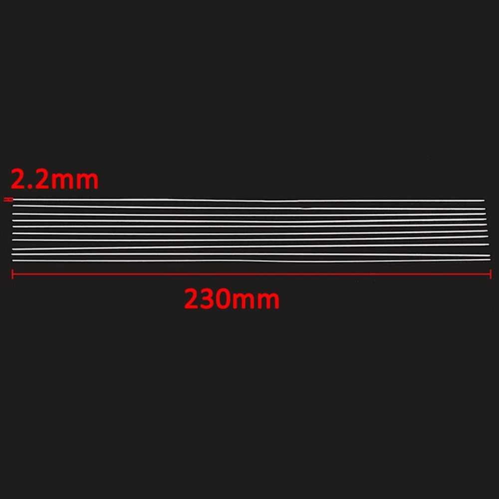 8 pcs Hastes De Soldadura de Alumínio 2mm x 230mm Baixa Temperatura De Solda Tig Haste De Soldadura com Resistência À Corrosão