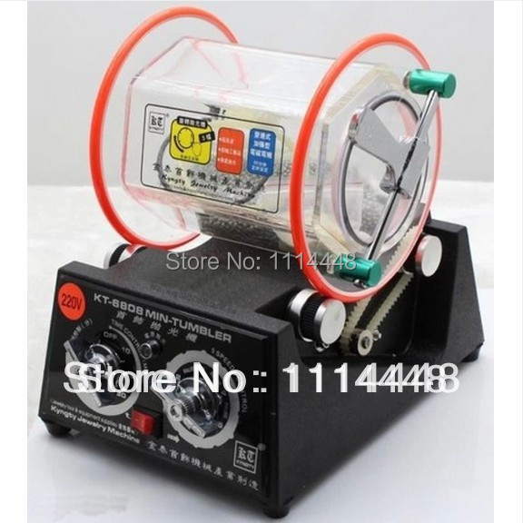 .New 3Kg Mini Rotary Tumbler Jewelry Polisher & Finisher Polishing Machine jade hanging milling machine flexible shaft machine jewelry polisher 4mm 220v