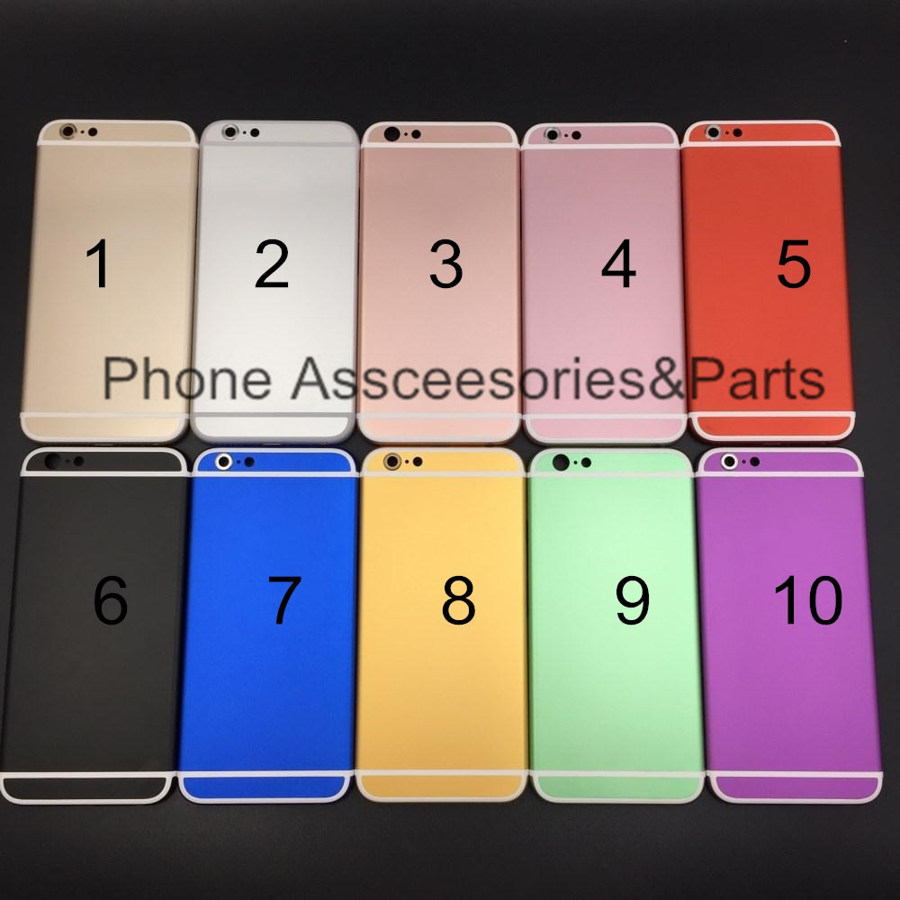 f13c7ea0a7a974 Multi color Back Housing For Iphone 6s 4.7 back housing cover with free TPU  case free shipping For Iphone 6s Back Housing Cover on Aliexpress.com