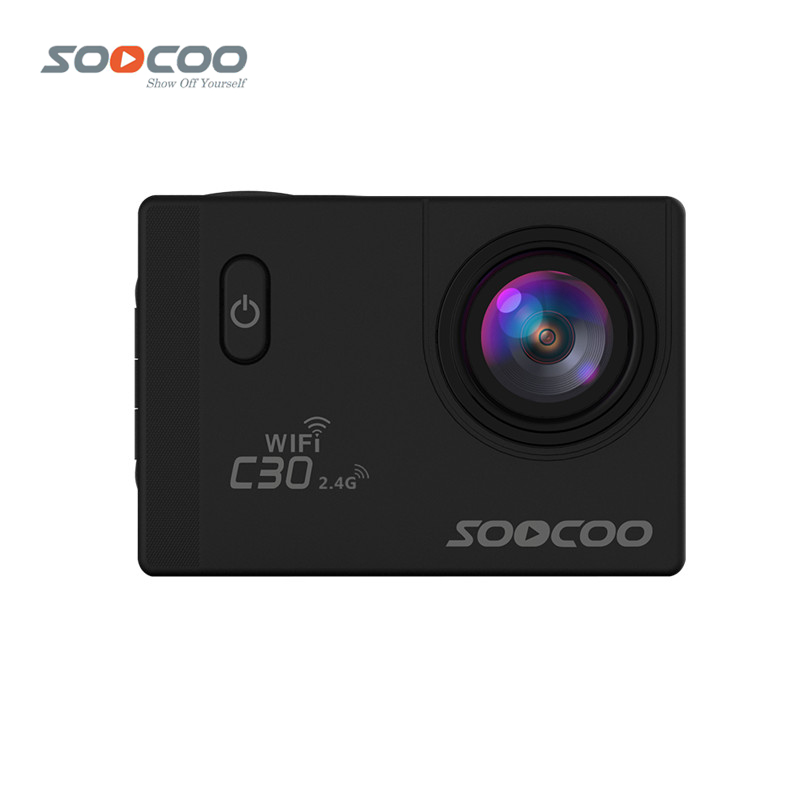 SOOCOO C30R 4K Wifi Action Camera 1080P Full HD Gyro Wireless Remote Control Waterproof Bicycle Helmet Mini Outdoor Sport Cam DV soocoo c30 sports action camera wifi 4k gyro 2 0 lcd ntk96660 30m waterproof adjustable viewing angles