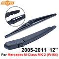 QEEPEI Traseiro Limpa e Braço Para-Mercedes M-class MK 2 (W164) 2005-2011 12 4 ''porta SUV Borracha Natural de Alta Qualidade