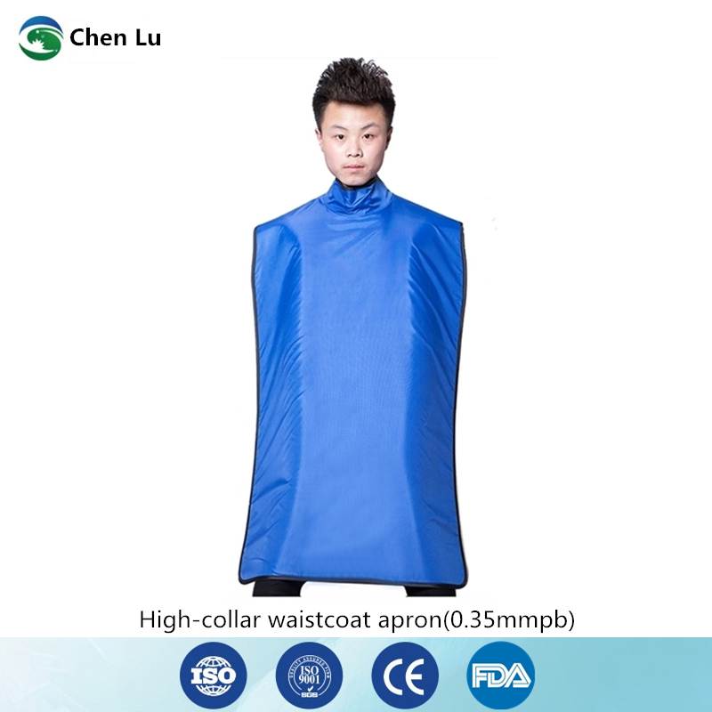 Direct Selling Medical uses of ionizing radiation protection 0.35mmpb high collar lead clothing x ray protective dental apron-in Safety Clothing from Security & Protection