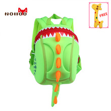 NOHOO 3D kids Bag for girls boys Children school bags cute waterproof Backpacks bag school mochila infantil rainbow six siege gg(China)