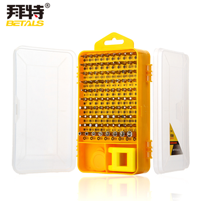 Betals Brand 108 in 1 Screwdriver Sets Multi-function computer repair tools Essential tools Digital mobile phone repair