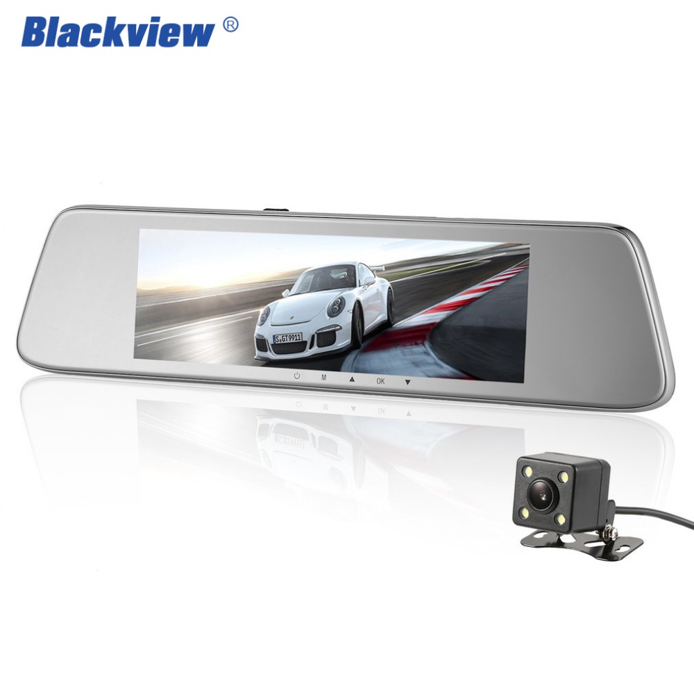 BLACKVIEW HSC Auto Camera Inch Screen Rearview Mirror Dual Camera Lens Night