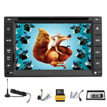 MP3 Autoradio Car DVD Player System Auto Steering Wheel Stereo GPS iPod MP4 Music CD SD Radio USB Sub Head Unit