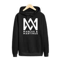 Pkorli Marcus And Martinus Hoodies Men Women Hip Hop Pop Music Sweatshirt Pullovers Hoodie Moletom Feminino