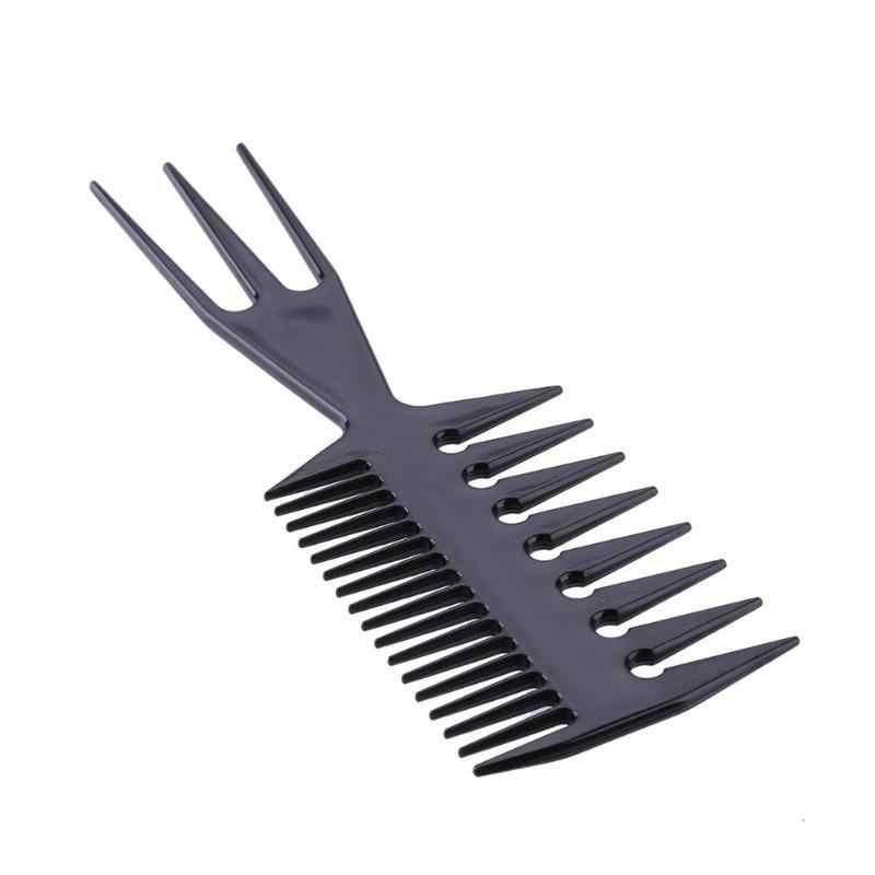 1pc Desembaraçar Escovas de Cabelo Liso Anti-estático Cabeleireiro Combs Barber Corte de Cabelo Pente Kit Pro Salon Hair Styling ferramenta de cuidados