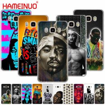 HAMEINUO biggie Tupac pac funda de teléfono funda para Samsung Galaxy J1 J2 J3 J5 J7 MINI ACE 2016, 2015