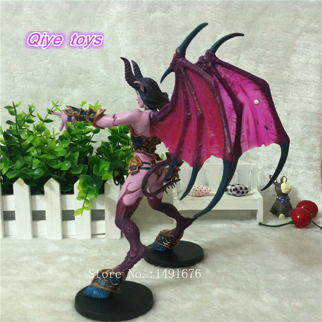 WOW Figure Toy DC Banshee / Succubus Mages 20CM PVC Action Figure Classic Toys For Boys Collection Model 3