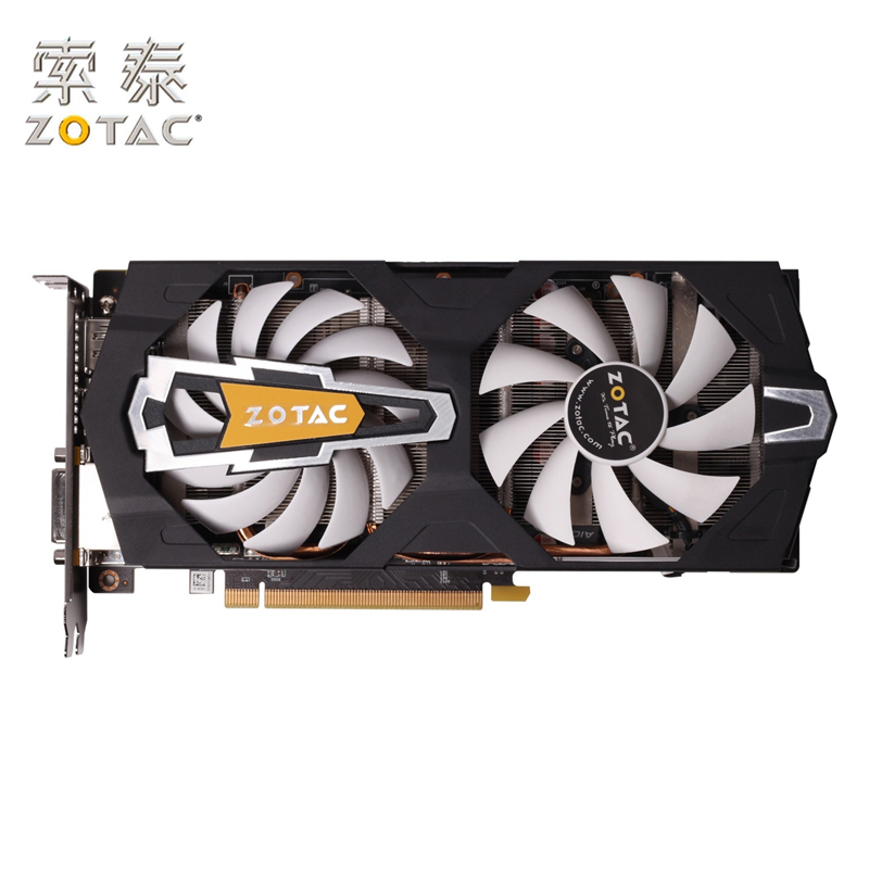 Original ZOTAC GeForce GTX660-2GD5 2GB Video Cards 192Bit GDDR5 Graphics Card <font><b>GTX</b></font> 660 600 For nVIDIA Original Map Devastators image