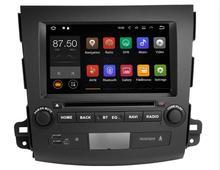 Для Mitsubishi Outlander XL EX Android 8,1 авто радио Автомобильный мультимедийный плеер стерео gps навигации головное устройство DVD OBD камера