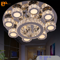 Novelty Design LED Ceiling Lamp Crystal Lamp LED Ceiling Light AC110 220V Modern Home Lighting