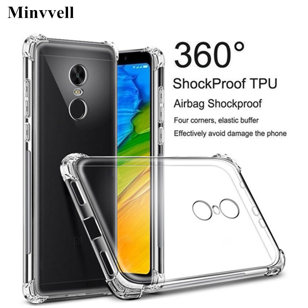 9e9e62eba6dfb Luxury Soft TPU Ultra Crystal Clear Case for Xiaomi Mi 8 SE 6 5X 5 5S
