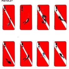Мягкий чехол для телефона love diver scuba для huawei Honor 20 i P20 30 P10 plus P9 mate 10 lite 20 pro Honor view 10 Y7 prime Y9