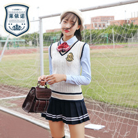 High School Students British Uniform Suit for Girl Anime School Uniform Cosplay