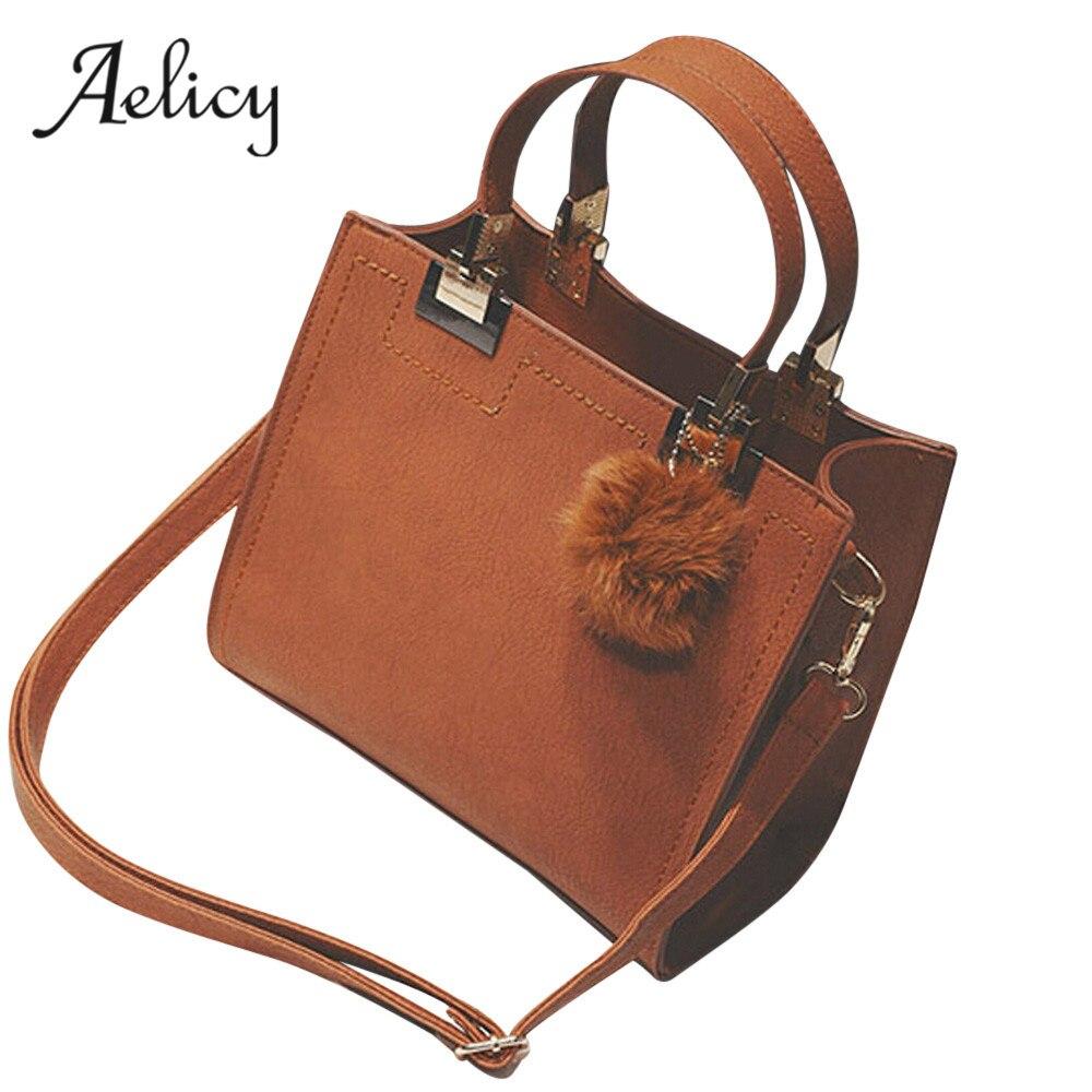 e87832379550 Aelicy luxury pu leather zipper bag female fashion ladies women's purses  and handbags fake handbags crossbody bags for women