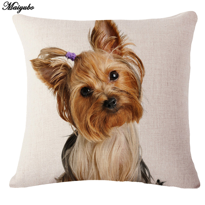 Maiyubo Decorative 3D Cushion Covers Animals Designs Digital Printing Throw Pillow Cover ...