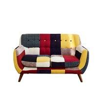 Современные двухместный диван тканевый чехол обивка дивана мебель современная Дизайн последние дома Гостиная диван кресло