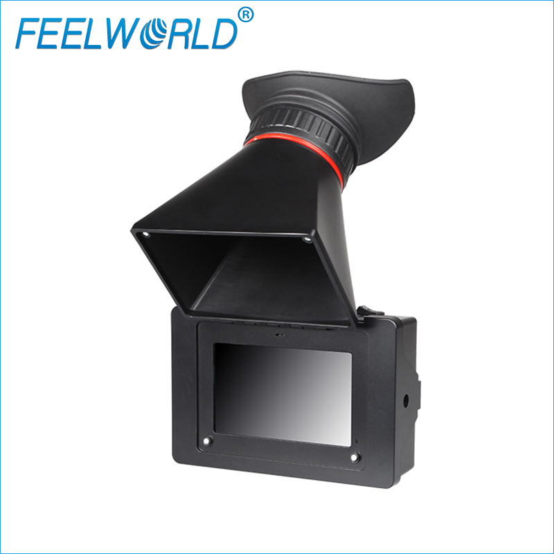 S350 3.5 Inch EVF 3G-SDI HDMI Electronic View Finder FEELWORLD 3.5inch Camera External Viewfinder LCD View Finder