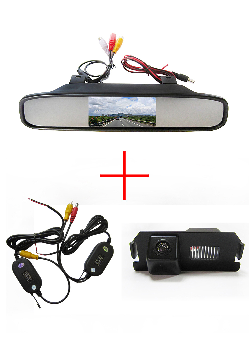 Wireless Color CCD Chip Car Chip RearView Camera for HYUNDAI I30 GENESIS COUPE Tiburon KIA SOUL