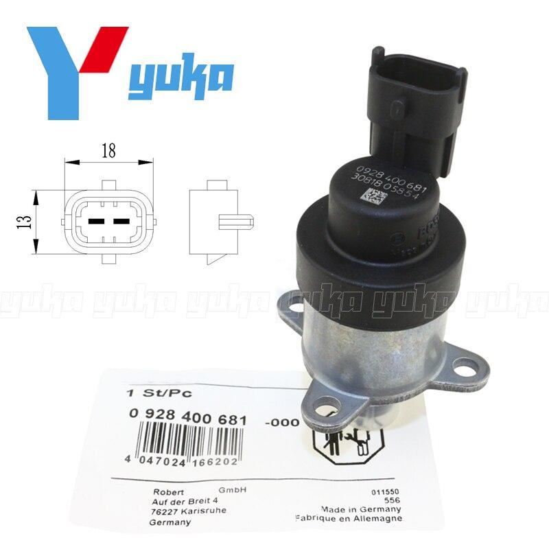 0928400715 Fuel Injection Pump Common Rail System Regulator Metering Control Valve For Mazda BT-50 Ford Ranger 2.5 3.0 D