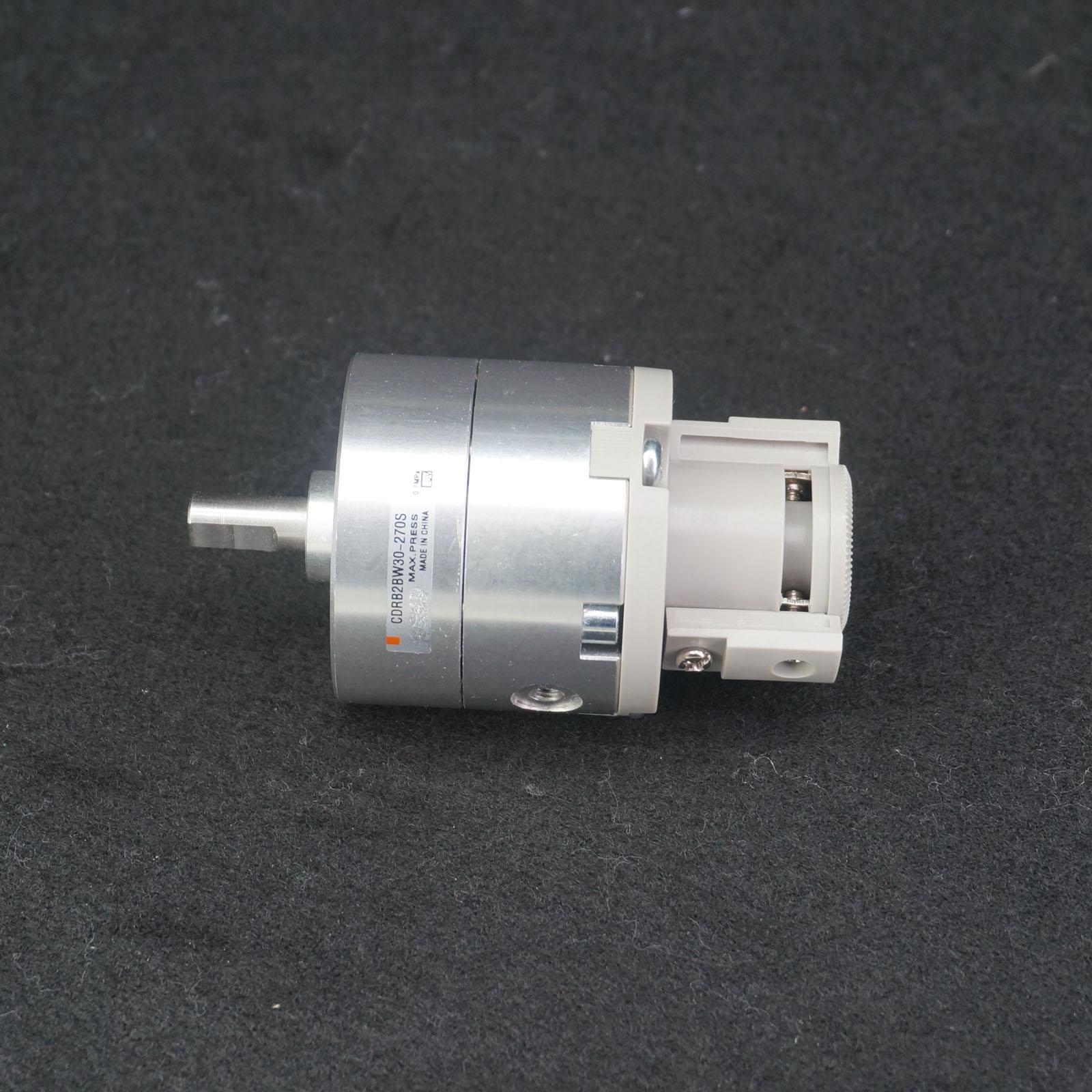 CDRB2BW30-270S Rotary Cylinder 30mm Rotate 270 Double Shaft With MagnetCDRB2BW30-270S Rotary Cylinder 30mm Rotate 270 Double Shaft With Magnet