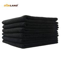 Sinland Microfiber   Towel   Hair Drying Beauty Salon   Towels   Black 41cmx69cm 16Inch x 27Inch 6 Pack