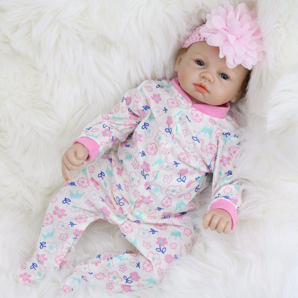 Pursue 22/55 cm Hot New Fashion Lifelike Reborn Baby Dolls Reborn Silicone Babies Toys for Children Girls Boys Birthday Gift free shipping hot sale real silicon baby dolls 55cm 22inch npk brand lifelike lovely reborn dolls babies toys for children gift