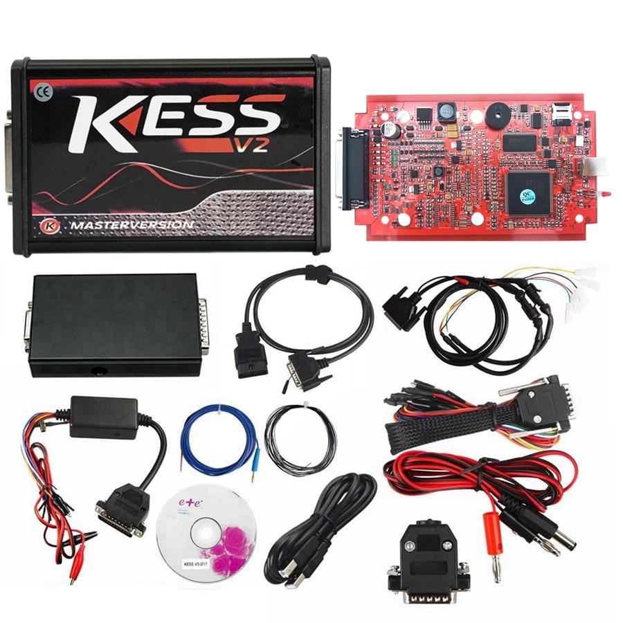 DHL Free KESS V2 V5.017 V2.47 EU KTAG V7.020 Red V2.25 ECM Titanium 4 LED FGTECH V54 BDM FRAME BDM100 V1255 BDM Probe 22pcs - 3
