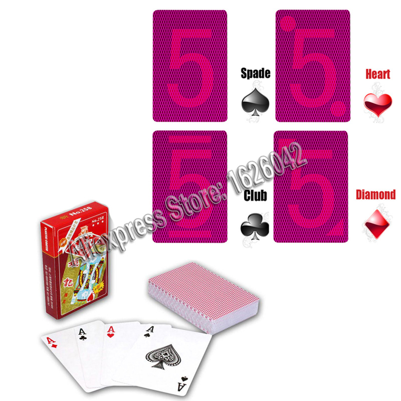 Perspective Poker XF YaoJi Marked Cards For Poker Glasses Invisible Ink Marker Magic Poker Anti Gamble <font><b>Cheat</b></font> and Poker <font><b>Cheat</b></font> image